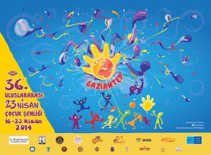 23RD APRIL CHILDREN'S FESTIVAL 2014