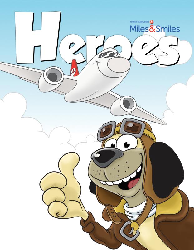 HEROES DERGI / HEROES MAGAZINE